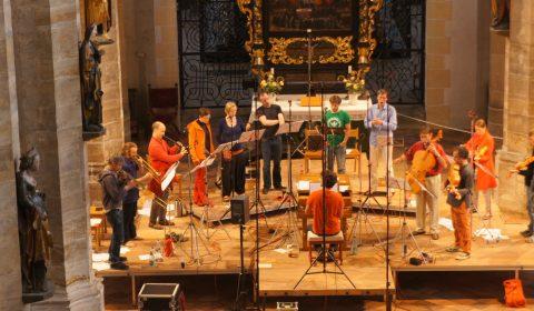 CD-Produktion mit der Freiberger Dom-Music und chordae freybergenses.